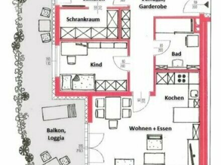 STEINHAUS - 3 Zimmer Wohnung Balkon im 1.OG