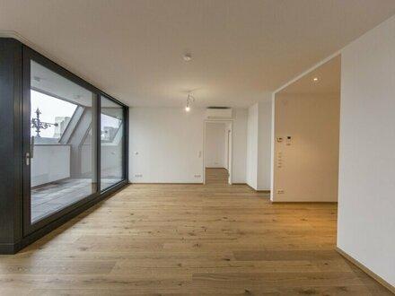 Sehr schöne und moderne 3-Zimmer Wohnung mit Loggia und Ausblick Richtung Museumsquartier zu vermieten - ERSTBEZUG