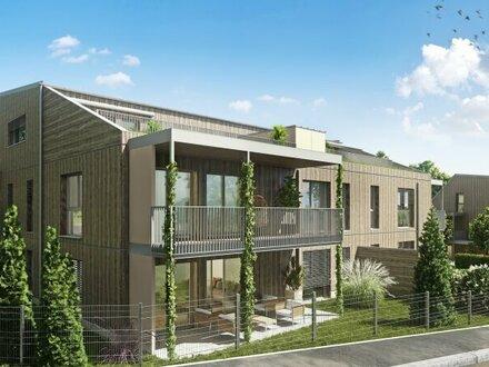 Exklusives und ökologisch nachhaltiges Wohnhausprojekt in Gießhübl