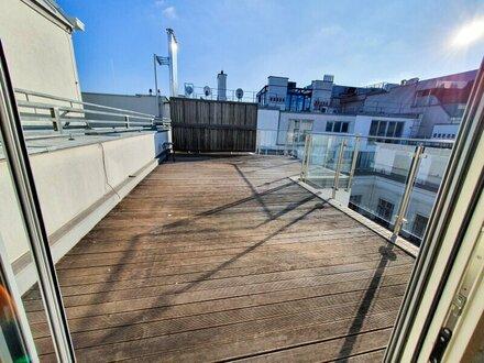 Wunderschöne DG-Wohnung mit großzügigen Terrassen Nähe Rudolfspark
