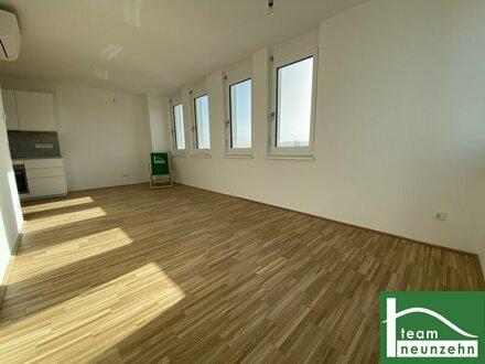 FLAIR CITY LIVING! Schöner Ausblick! Dachgeschoss mit Klimaanlage! Erstbezugswohnungen in ruhiger Lage