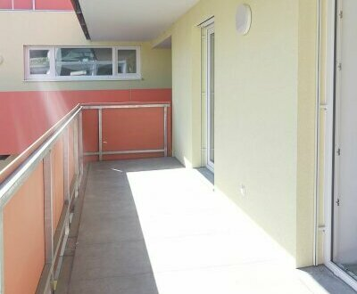 Großer Südbalkon - 2 Zimmer - Wohnung - ERSTBEZUG schlüsselfertig - nahe Fußgängerzone und Landesklinikum im Zentrum vo…