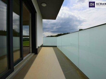 TRAUMHAFT: Stillvoller Erstbezug. 3-Zimmer. Hochmodern. Grünblick + Balkon + Carport. WOW!!