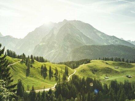 Bergblick: 3-Zimmer-Maisonette Top A02