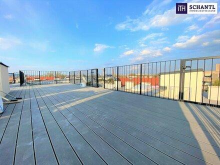 OVER THE TOP: Penthouse + 5-Zimmer-Wohnung + 130 m² Terrassenflächen + Traumhafter Blick + perfekte Infrastruktur!