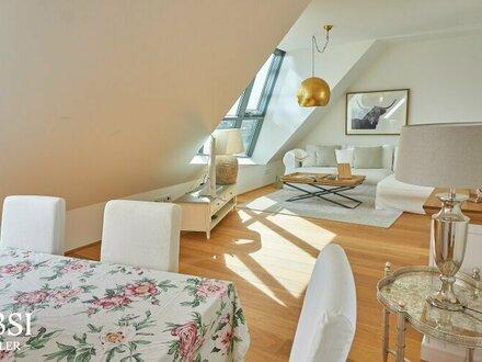 Exquisiter 3-Zimmer Dachterrassentraum in Top-Lage des 2. Bezirks!