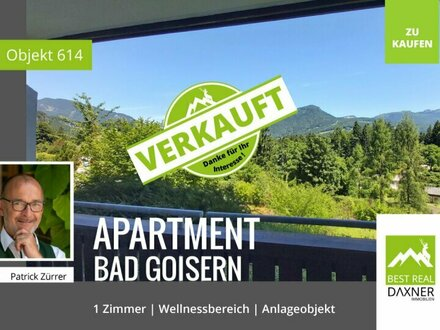 Verkauft! 1 Zimmer Apartment in Bad Goisern mit vielen Extras!