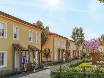 GARTENTRAUM - Schlüsselfertige, exklusive & klimatisierte Doppelhäuser mit Toskana-Flair - MASSIVHAUS!