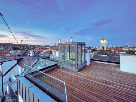 Lassen Sie sich verzaubern! Modernes Penthouse mit großer Dachterrasse und unbezahlbarem Ausblick!
