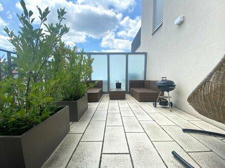 NÄHE TÜRKENSCHANZPARK (3 Gehmin.): klimatisierte 3-Zimmerwohnung mit Terrassen