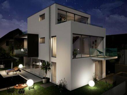 luxuriöse Neubau Villa mit Pool im 13. Bezirk