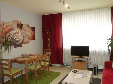 2,5 Zimmer möbliert / Balkon / zentral und ruhig
