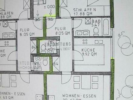 PROVISIONSFREI!! Ma- Niederfeld, Gralsstr. 19, 2 ZKB, Wohnfl.: 78,24 qm, Terrasse, Garten, EG