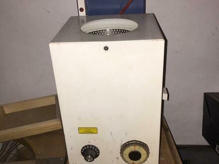 Goldschmied Tisch Doppel Polier und Trocknung Maschine