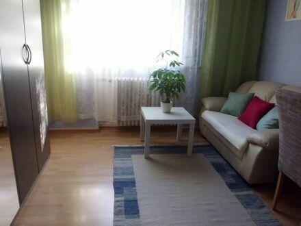 Ein vollmöbliertes Zimmer, zentrale Lage, gute Anbindung