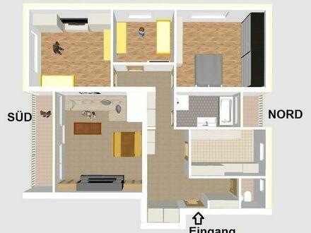 Neuwertige 4 Zimmer Wohnung über den Dächern von Heubach