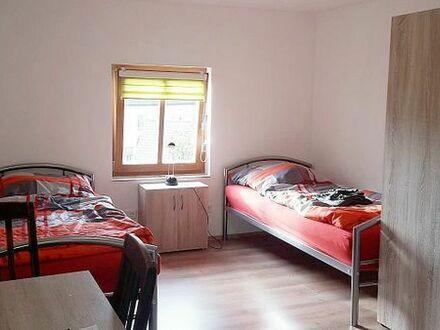 Monteurzimmer, inkl. WC/Dusche für 1-2 Personen