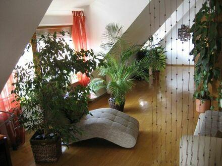 Helle schöne und ruhige Wohnung im 2. OG über den Dächern ca. 75 qm
