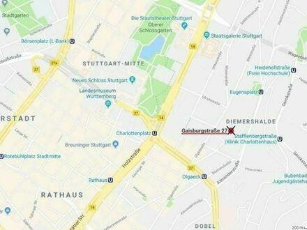 Tiefgaragen Stellplatz Nähe Olgaeck/Charlottenplatz zu vermieten