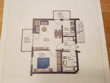 Zum 01.05.: Moderne 2-Zi Wohnung im Mehrfamilienhaus (BJ 2006) - ruhige, grüne Lage in Waldtrudering