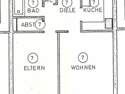 Frisch renovierte 72 qm 2-Zimmer Wohnung