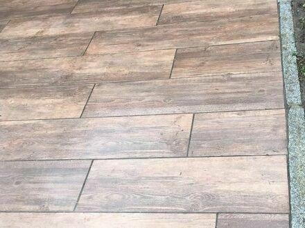 Keramikplatten von Redsun New Dark Oak, Holzoptik, 30x120x2cm