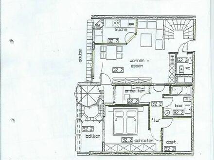 2 1/2 Zimmer Maisonnette Wohnung in zentraler Lage von Frankenthal