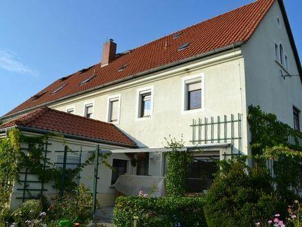 Mietwohnung mitten in Sachsen auf Mehrgenerationen-Wohnhof, viel Lebensraum, Garten, zentrale Lage