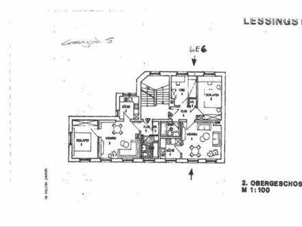 Günstige, gepflegte 3-Zimmer-Wohnung mit EBK in Plauen