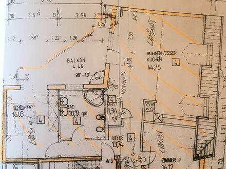 Tolle 4 1/2 Zimmer DG-Maisonette noch Provisionsfrei, Balkon und Terrasse