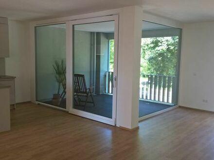 ab Sofort - Neuwertige 3,5-Zimmer-Wohnung mit Balkon und Einbauküche in Waldshut-Tiengen