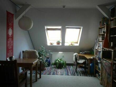 BIETE romatische DG- Wohnung ab 01.11. für 6 Monate in Leipzig zur Zwischenmiete