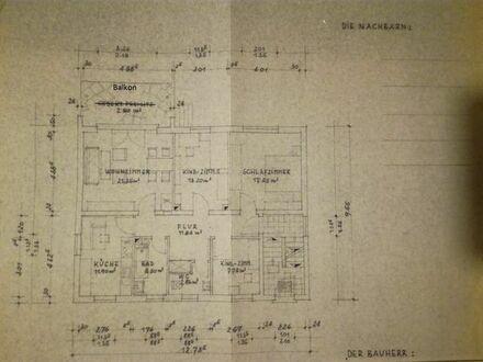 Vermieten eine Helle 3,5 Zimmerwohnung in hervorragender Lage