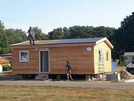 Mobilheim 60m2 Holzhaus - auch als Modulhaus - Mobile Home