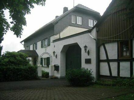 Wohnung auf historischem Bauernhof in Eitorf, Nähe Golfplatz zu vermieten