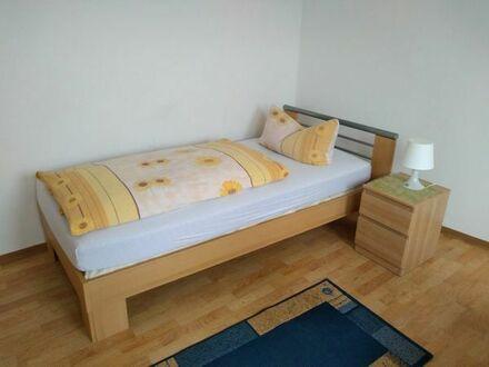 Möbliertes Zimmer für Wochenendheimfahrer