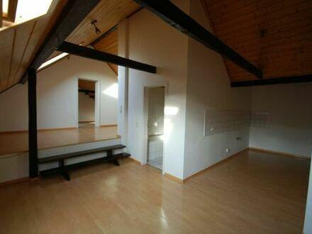 Helle große Dachgeschosswohnung zu vermieten