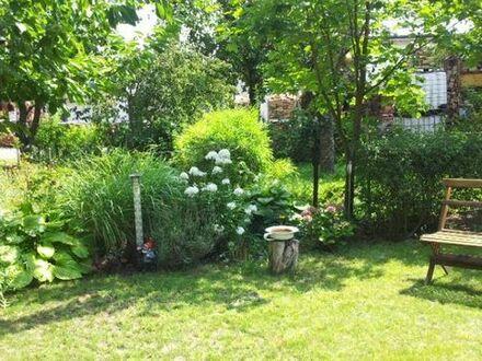 Garten zentral in NW, Nähe Speyerbach