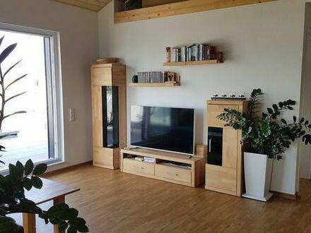 Kronau - Große Wohnung (ca. 135 qm, 4 Zimmer + ausgebauter Dachboden) mit Dachterrasse