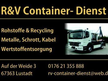 R&V Container- Dienst/ Entsorgung und Anlieferung allerlei