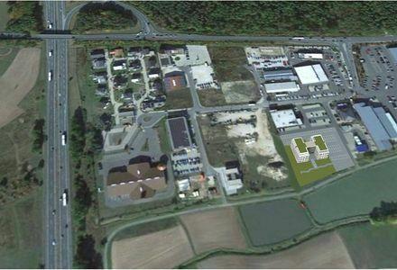 Gewerbegrundstück A3 Ausfahrt Erlangen--West 4.891 qm, Sichtbarkeit von Autobahn