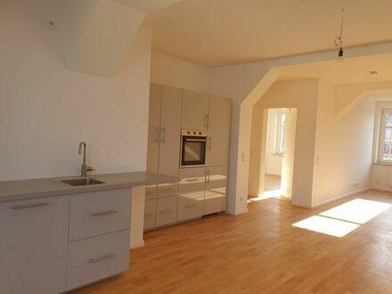 3 Raum DG Wohnung, Terrasse, Leipzig-Möckern ab sofort zu vermieten