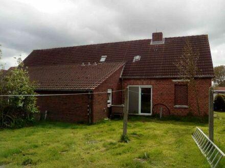 1500qm Grundstück mit 2 Etagenhaus, Dornumersiel an ostfriesischer Küste, noch bebaubar