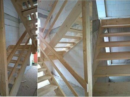 Gelegenheit! Bautreppe aus Holz zu verkaufen