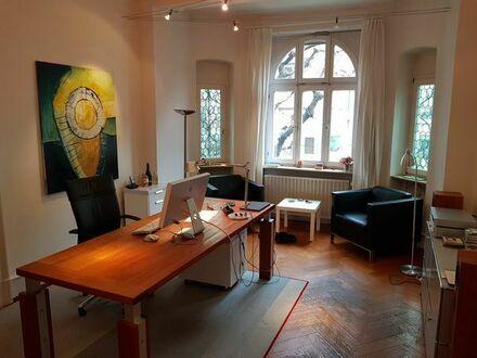 Möbliertes Büro in Bürogemeinschaft zu vermieten