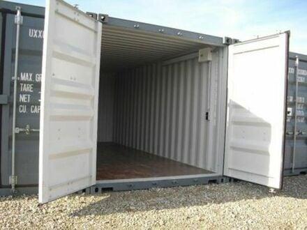 Lager-Container-Garage--Archiv- Miniwerkstatt mit Licht und Strom---nähe Dachau