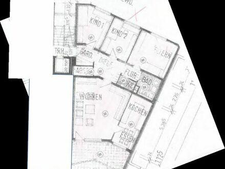 Vermiete schöne 4,5 Zimmer Wohnung mit Gartenanteil, große Terrasse