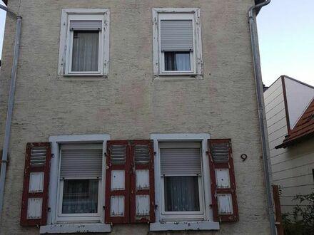 Vorankündigung: Sanierungsbedürftiges Haus in Hemsbach
