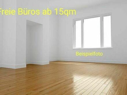Freie Büros/Arbeitszimmer/Hobbyzimmer ab 15-40m2