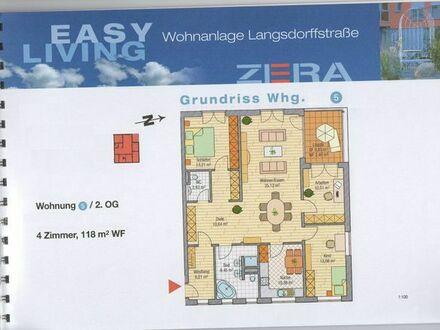4 Zimmerwohnung, plus Keller Garage Stellplatz barrierefrei Fahrstuhl